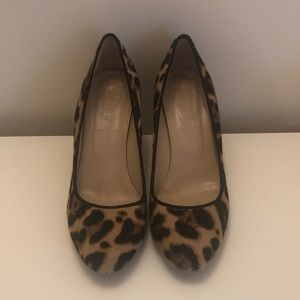 J. Crew Cheetah Wedges